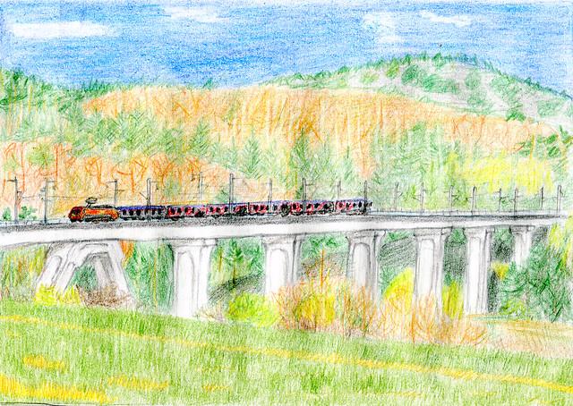 Поезд через мост_ 11-12 июля 2012