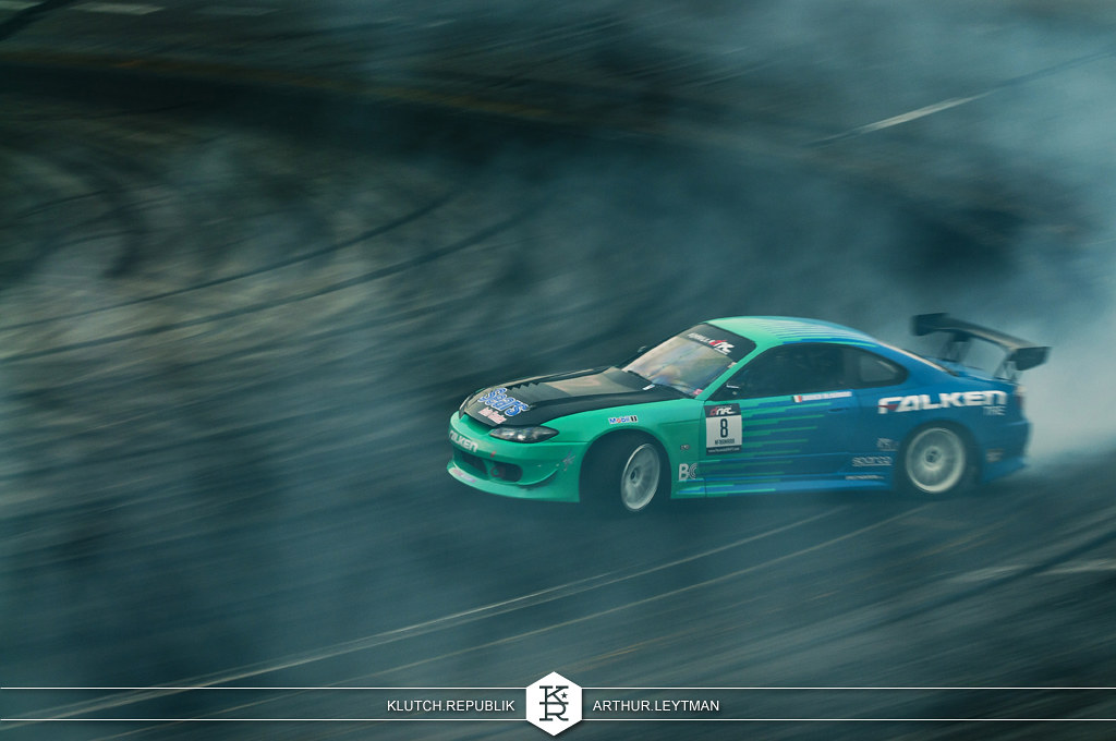 falken blue green nissan silvia s15 coupe drifting at formula drift the wall new jersey 3pc wheels static airride low slammed coilovers stance stanced hellaflush poke tuck negative postive camber fitment fitted tire stretch laid out hard parked seen on klutch republik