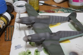 "A-Model ""72217 Bf109Z"" -7"