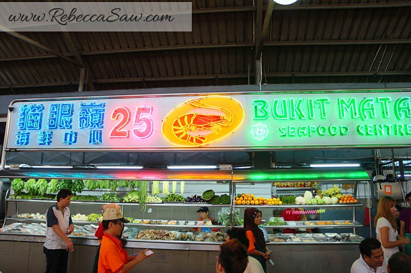 bukit mata - tops spot Kuching - seafood