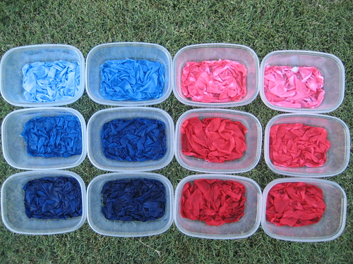 Blues and Reds Ready to Rinse
