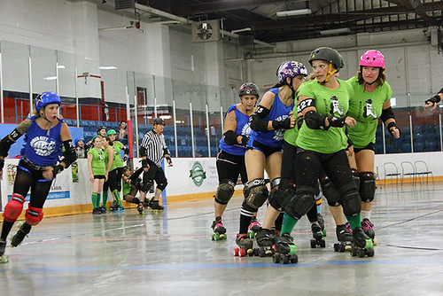 border city brawlers vs renegade derby dames