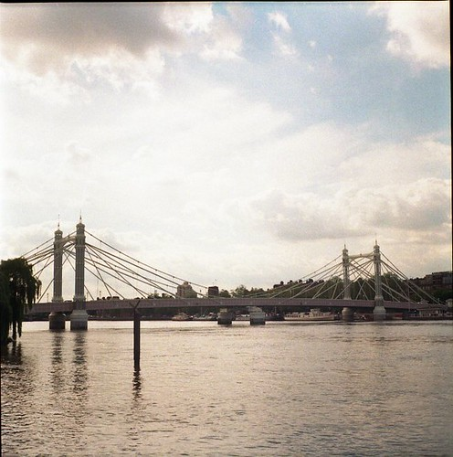 prince albert bridge, london