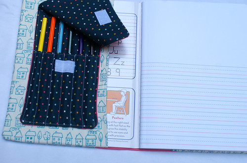 {Tutorial} Kiddo Journal with Pencil Pouch