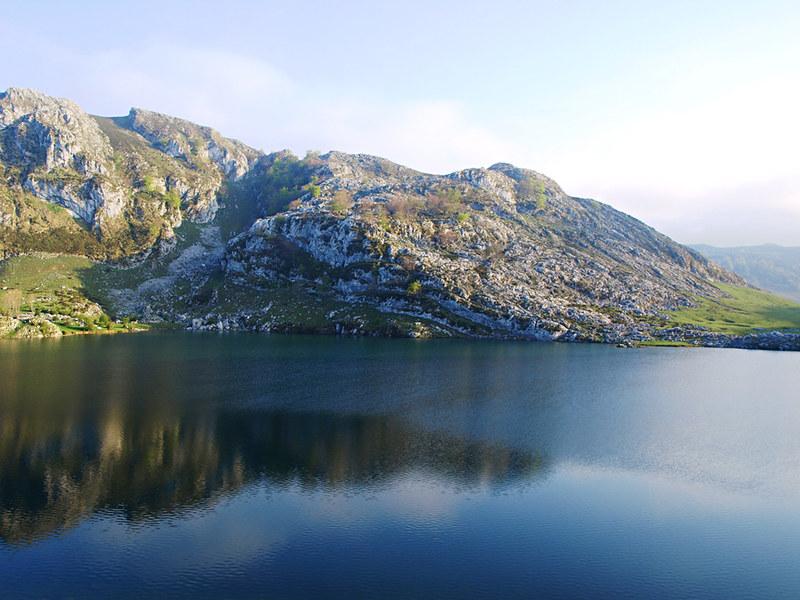 Lake in Picos de Europa, Asturias