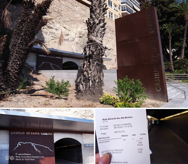 Hola Alicante~ 阿利坎特。地中海的熱度 Castillo de Santa Barbara 聖巴巴拉城   R1043563