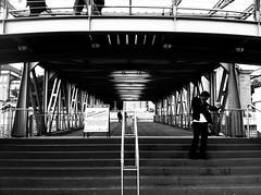 Hamburger Hafen, Landungsbrücken, Treppe