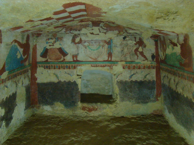 Tomb of the lionessmedlemmar, Tarquinia