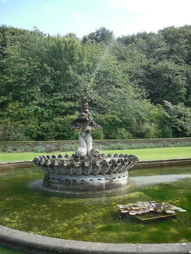 Culzean Castle fountain