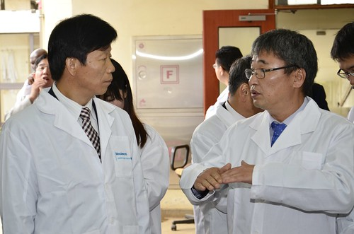 Visit by Korea's Rural Development Authority (RDA) to ILRI in Nairobi