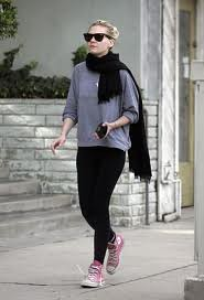 Kirsten Dunst Converse Celebrity Style Women's Fashion