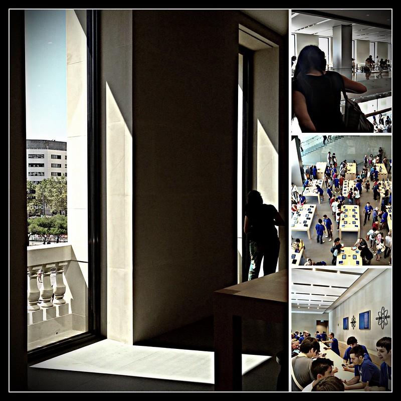 Apple Store Passeig de Gràcia opening, 28th July