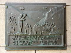Photo of Bronze plaque number 10234