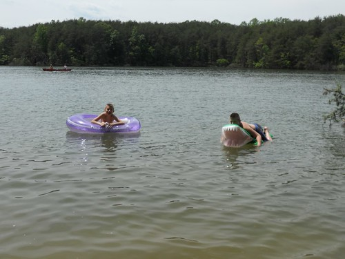 Kids at Smith Mountain Lake