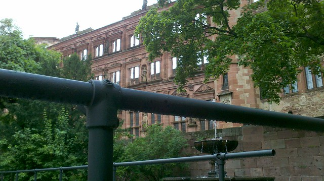 Heidelberg Castle Stage Railing