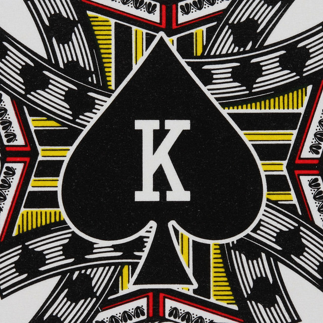 Round Playing Card King of Spades | Flickr - Photo Sharing!