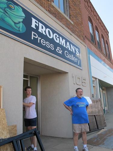 Taking Apart Frogman's Press