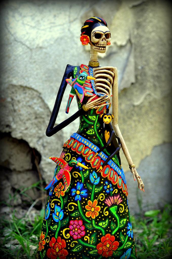 Frida Kahlo Catrina A Photo On Flickriver