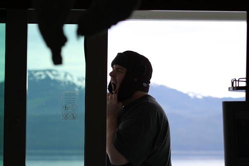 Leaving Glacier Bay - Mike Yawns