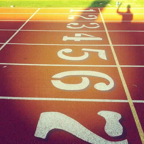 Track work out with @kellywils0n