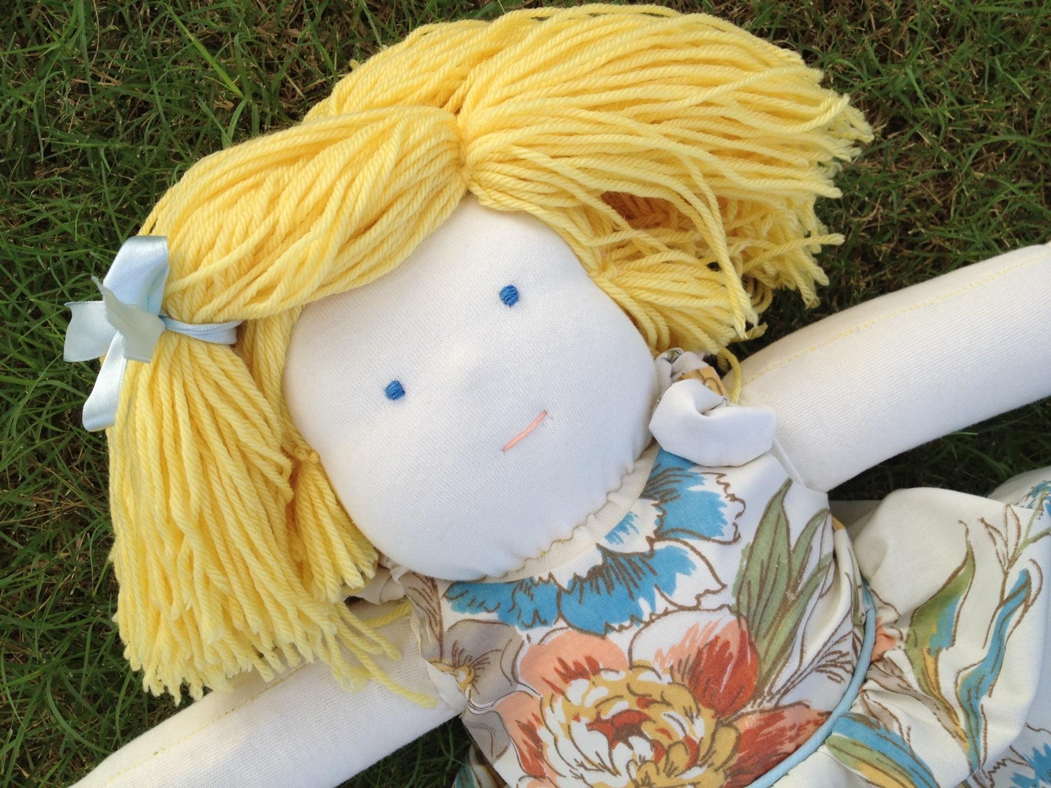 Amelia's Waldorf doll