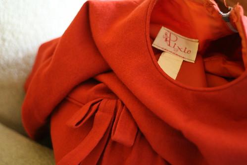pixie vintage dress