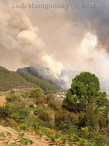 Wildfires Tenerife