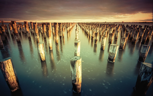 Princes Pier. Port Melbourne.