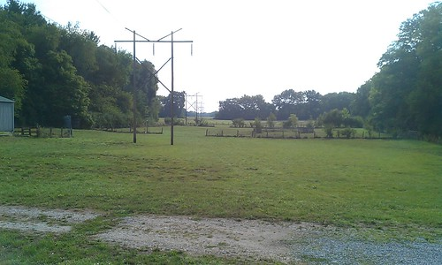 The former horse pasture