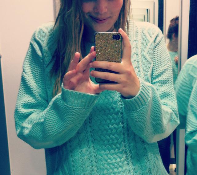 3 mint jumper knitwear aw 2012 uk blogger fashion wiwt ootd