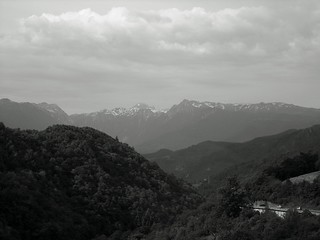 Road between Mostar and Sarajevo