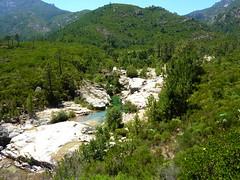 Sentier de Sainte-Lucie : les vasques du ruisseau
