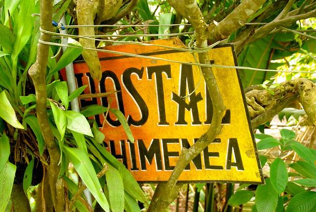 hostal chimenea in banos ecuador