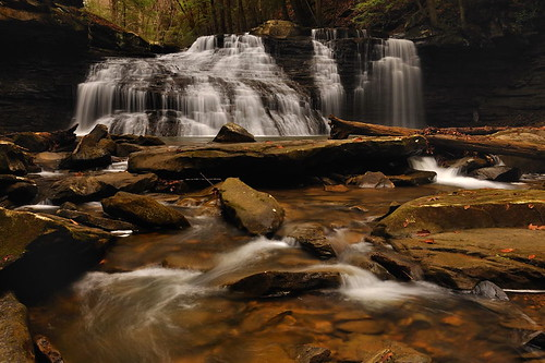 longexposure nature waterfall nikon pennsylvania circularpolarizer alleghenyriver ndfilter nikond90 shullrun freedomfalls pennsylvaniswaterfall