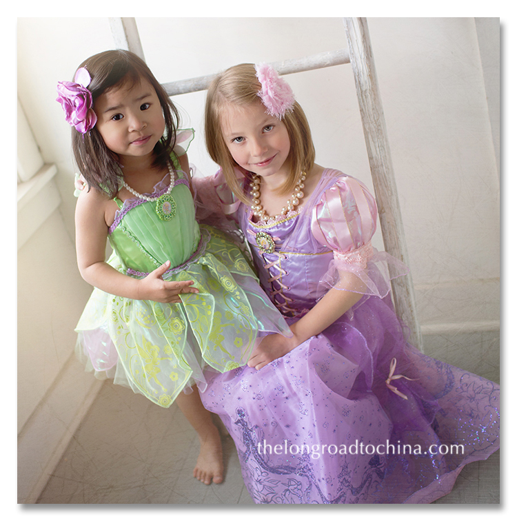 Tink and Rapunzel BLOG