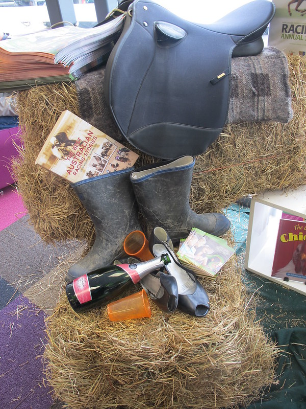 A&P show display at Central Library Peterborough