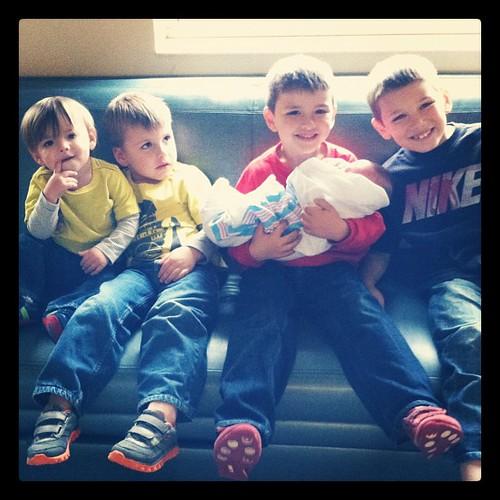 5 boys !!!