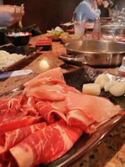 buffet(0.0), kobe beef(0.0), meal(1.0), charcuterie(1.0), yakiniku(1.0), samgyeopsal(1.0), hot pot(1.0), meat(1.0), food(1.0), dish(1.0), cuisine(1.0), chinese food(1.0),