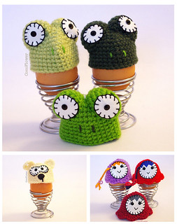 Egg warmer easter decoration by CocoFlower