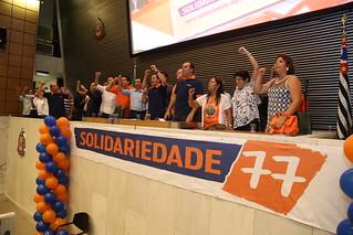 Lideranças de todo o Estado se reúnem no 1º Encontro do Solidariedade-SP