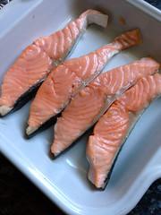 saumon aux asperges