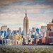 Manhattan and Empire State Building by Peter McClintock
