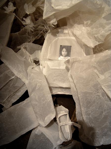 雷燕,我要怎样保护你(局部),装置,2010年