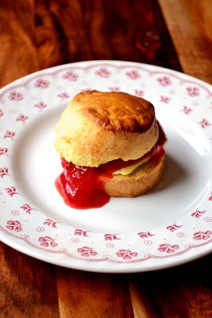 Recipe for Traditional Scones