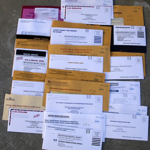 16 from Federation of Responsible Citizens junk mail
