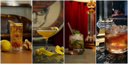 Hennessy V.S.O.P cocktails