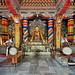 India - Bihar - Bodhgaya - Bhutanese Monastery - 159
