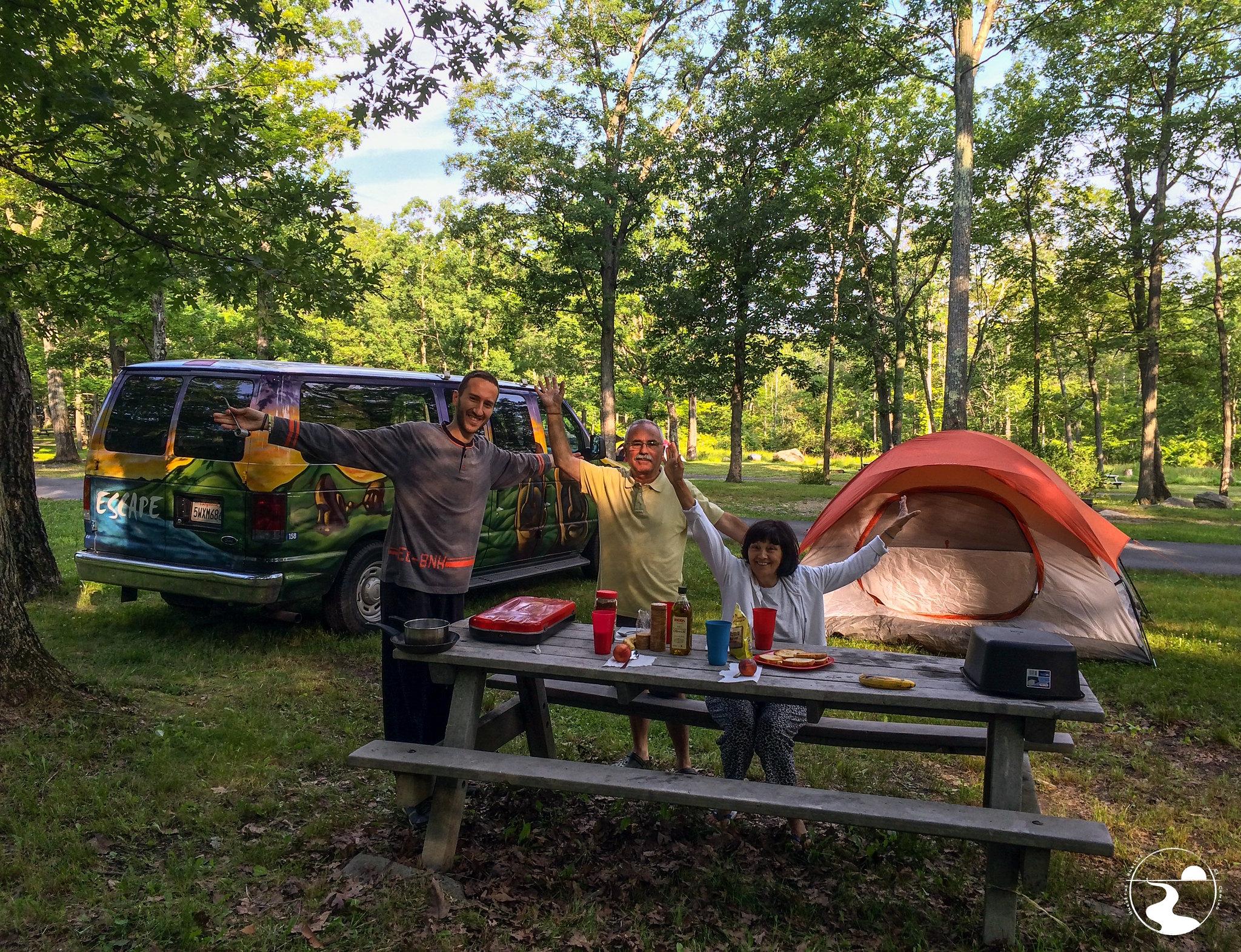 Vida de camping