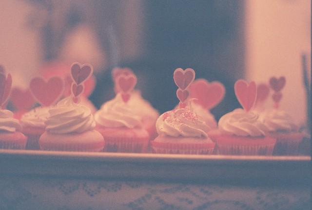 My Valentine's Day cupcakes.