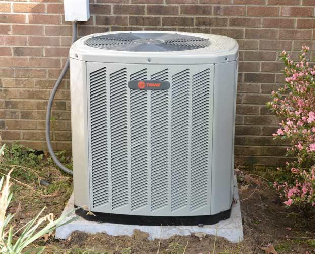 New TRane heat pump